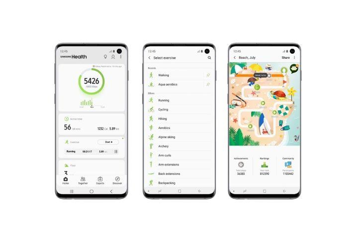 Ứng dụng Samsung Health sẽ không còn hỗ trợ các chiếc smartphone Galaxy cũ
