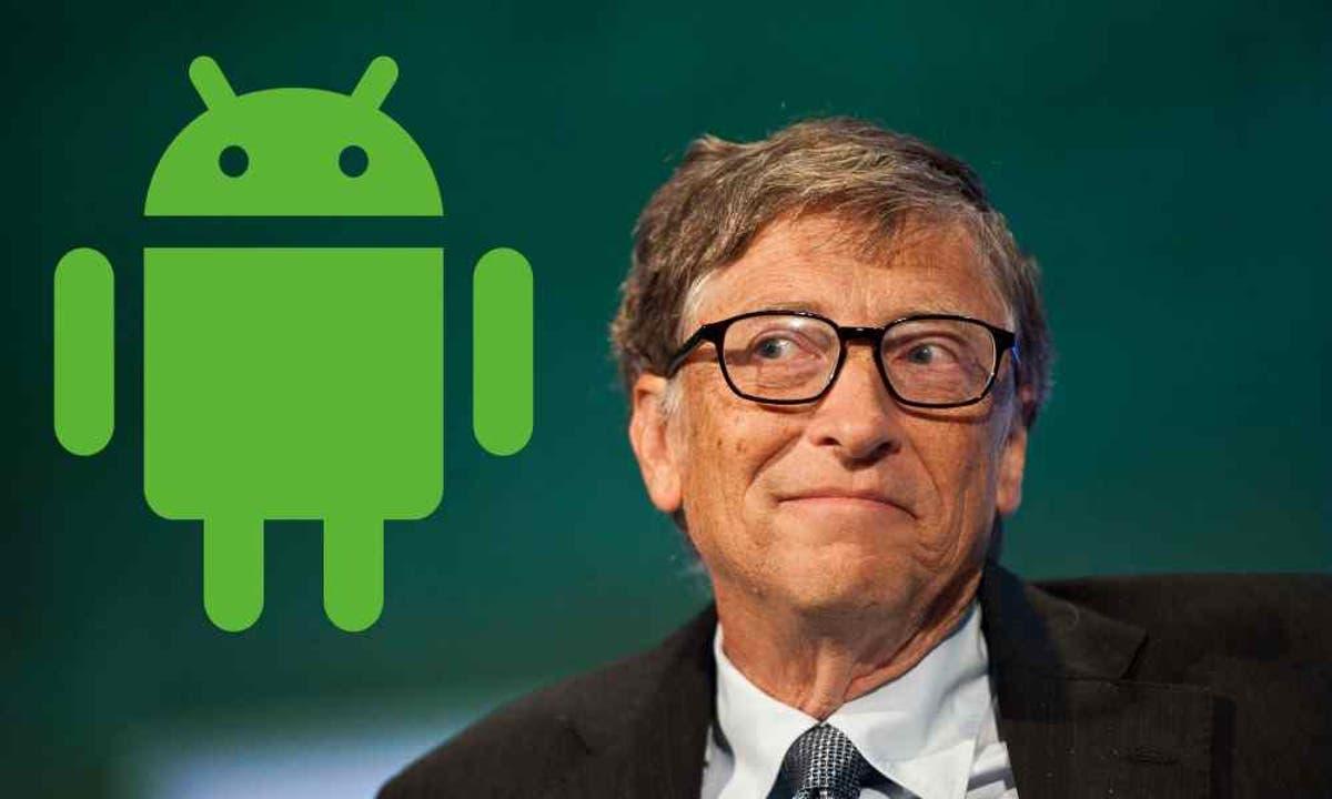 Bill Gates sử dụng điện thoại Android chứ chẳng phải là một chiếc iPhone