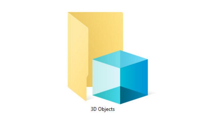 """Microsoft """"xóa sổ"""" thư mục 3D Objects trong Windows 10 do... chẳng ai dùng"""