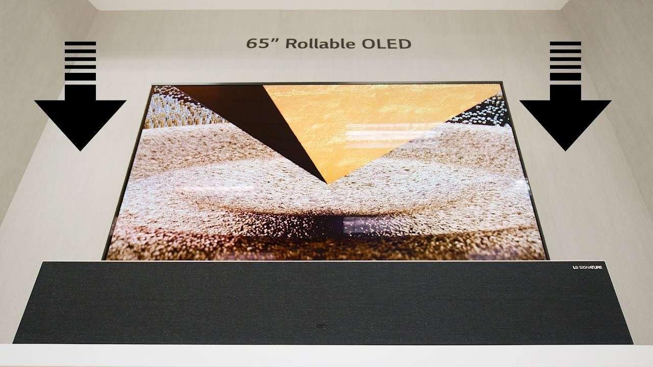 LG có thể đã bán được 10 chiếc TV OLED màn hình cuộn, mỗi chiếc giá 89.000 USD