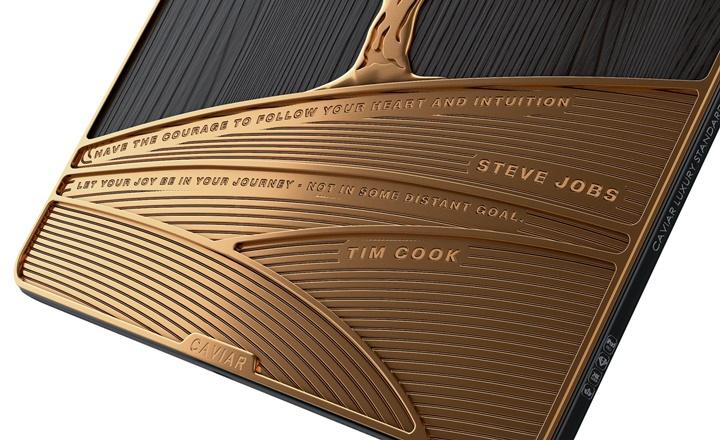 Caviar giới thiệu iPad Pro được trang trí bằng 1 kg vàng