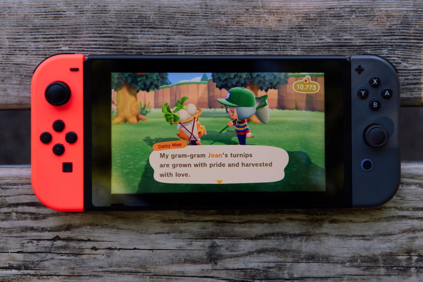 Nintendo dự định sẽ sử dụng màn hình OLED lớn hơn từ Samsung cho mẫu Switch mới của mình