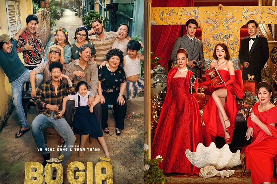 'Bố Già' và 'Gái Già Lắm Chiêu V' ngày mai ra rạp: Phim nào sẽ ăn khách hơn?