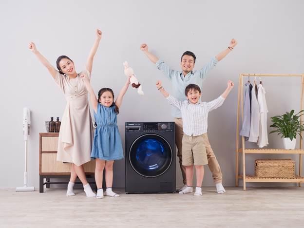 Top 3 máy giặt diệt khuẩn thế hệ mới của Panasonic, bảo hành động cơ 12 năm