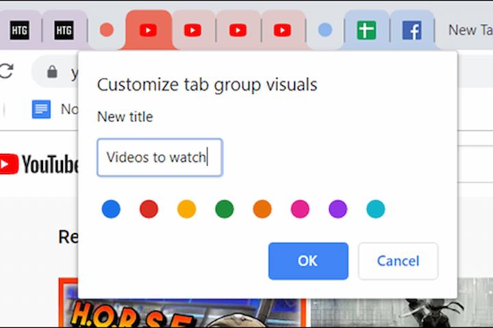 Sử dụng tính năng Tab Groups trên Google Chrome như thể nào?