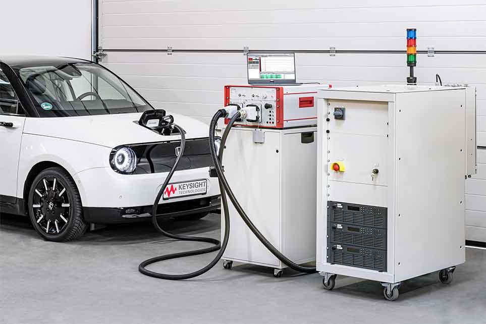 Keysight ra mắt giải pháp đo kiểm ứng dụng sạc cho xe điện