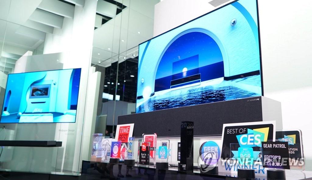 Khách hàng châu Âu chuộng mua TV OLED của LG