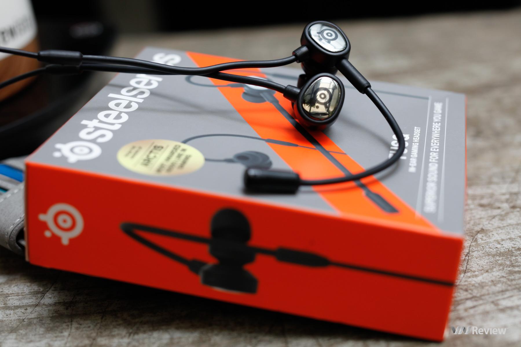 Đánh giá SteelSeries TUSQ: Chiếc tai nghe in-ear phục vụ nhu cầu chơi game di động