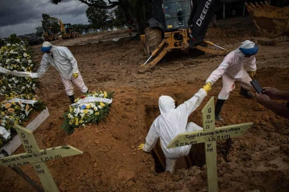 Sự chủ quan đang nhấn chìm Brazil trong chương chết chóc nhất của đại dịch Covid-19