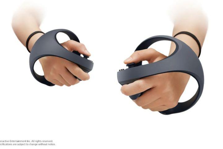 Sony trình làng bộ điều khiển PS5 VR mới với trigger thích ứng