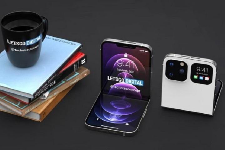 Chiêm ngưỡng concept iPhone gập dạng vò sỏ dựa trên những thông tin rò rỉ