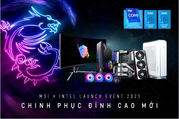 """MSI ra mắt bo mạch chủ 500 Series cùng hàng loạt sản phẩm mới tại sự kiện """"Chinh phục đỉnh cao mới"""""""