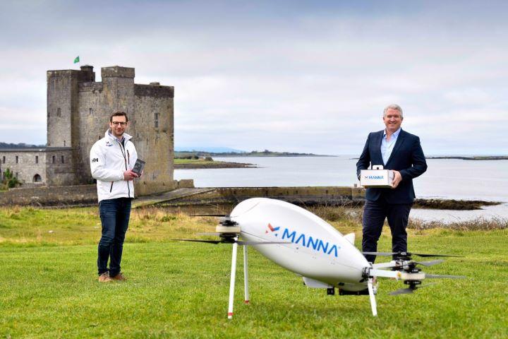Samsung sử dụng drone để giao điện thoại, thiết bị đeo Galaxy tại Ireland