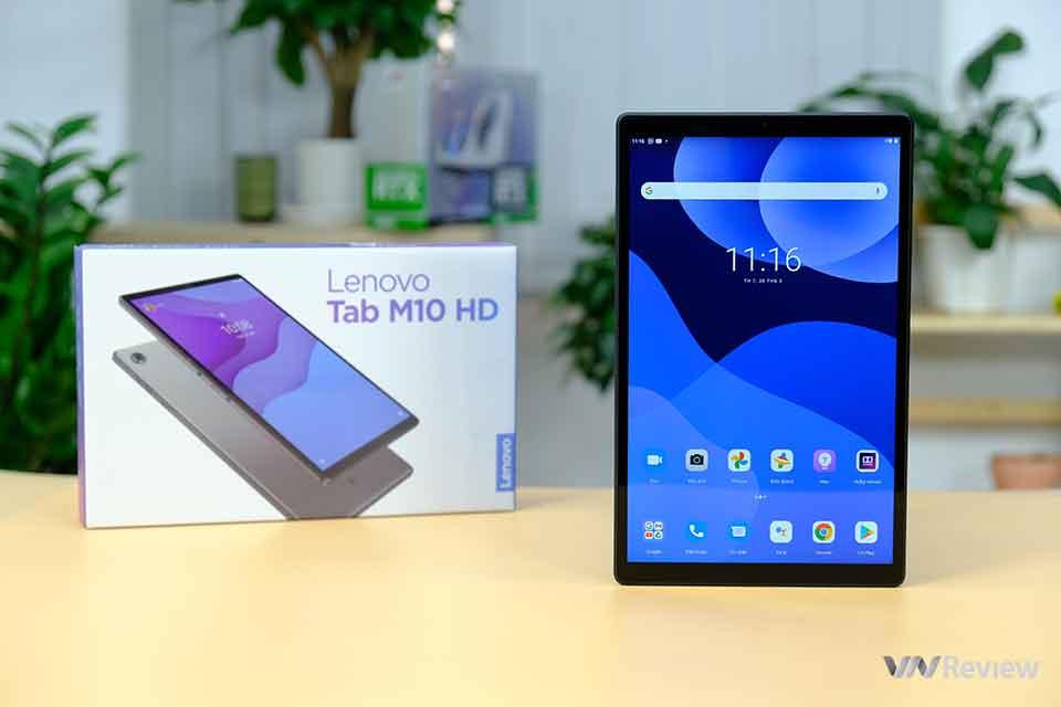 Trên tay Lenovo Tab M10 HD Gen 2: máy tính bảng gia đình giá mềm