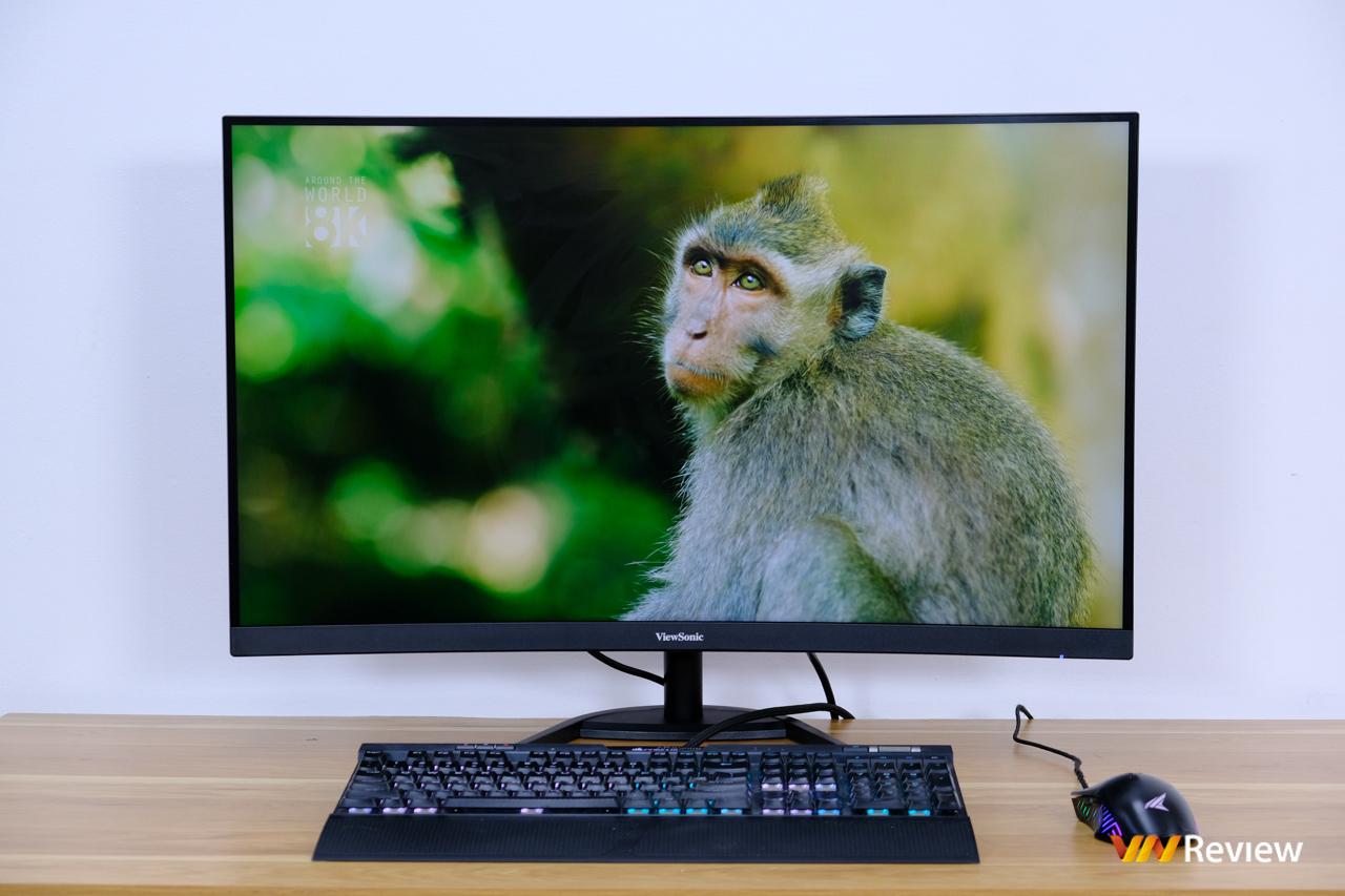 """Đánh giá nhanh ViewSonic VX3268-2KPC-MHD: Màn hình """"điểm ngọt"""" cho trò chơi thủ thích """"to cong"""" - VnReview 2020 3"""