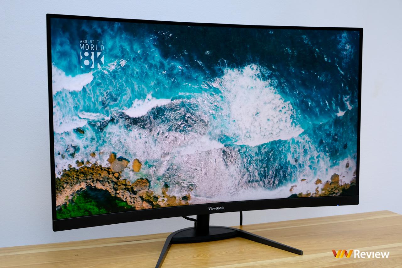 """Đánh giá nhanh ViewSonic VX3268-2KPC-MHD: Màn hình """"điểm ngọt"""" cho trò chơi thủ thích """"to cong"""" - VnReview 2020 4"""