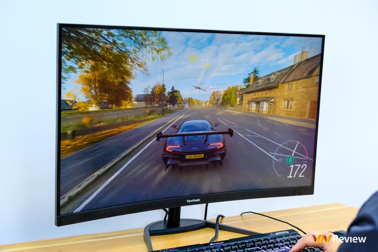 """Đánh giá nhanh ViewSonic VX3268-2KPC-MHD: Màn hình """"điểm ngọt"""" cho trò chơi thủ thích """"to cong"""" - VnReview 2020 14"""