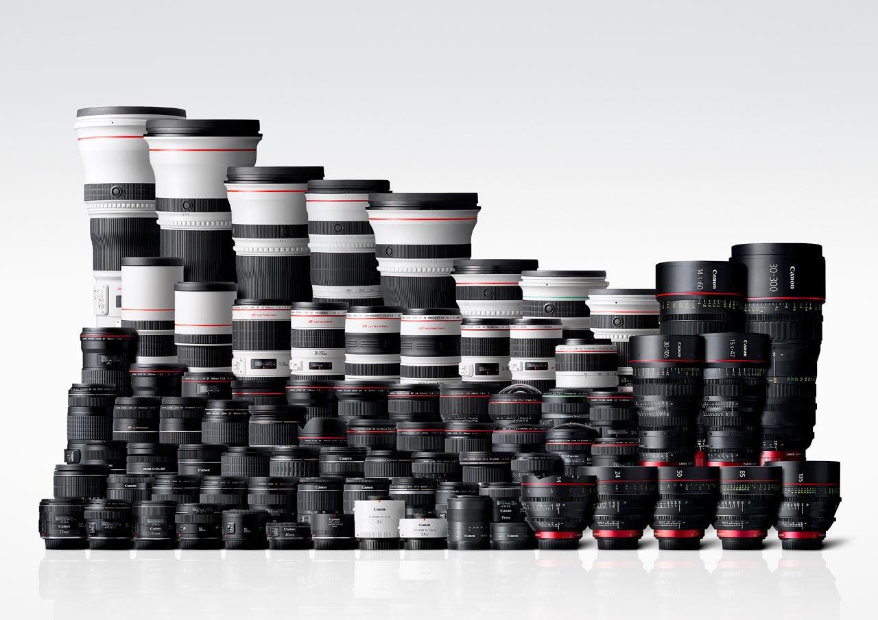 Canon sẽ sớm ngừng bán các ống kính DSLR phổ biến