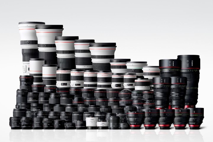 Canon sẽ sớm ngừng bán các ống kính DSLR ngàm EF