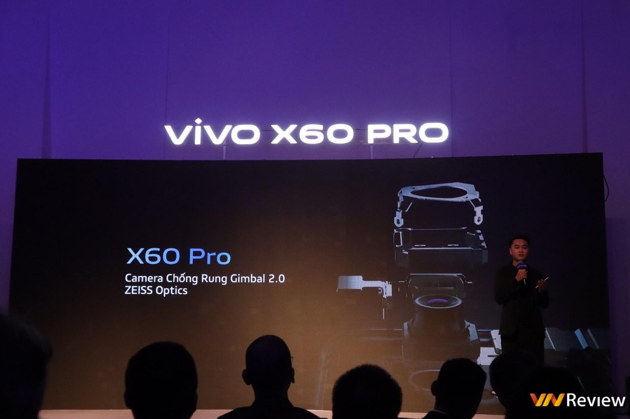 vivo X60 Pro chính thức ra mắt tại Việt Nam: camera Zeiss, chống rung Gimbal 5 trục, Snapdragon 870, giá 19,99 triệu đồng