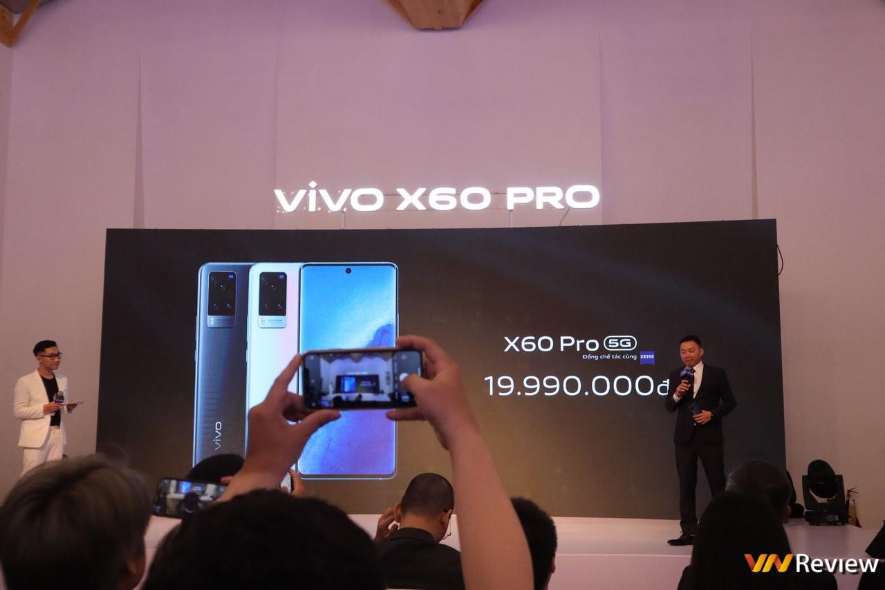 vivo X60 Pro ra mắt tại Việt Nam: camera Zeiss, chống rung Gimbal, Snapdragon 870, giá 19,99 triệu