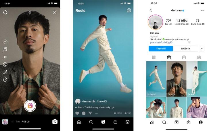Instagram ra mắt tính năng video ngắn Reels cho người dùng Việt Nam, cạnh tranh với TikTok