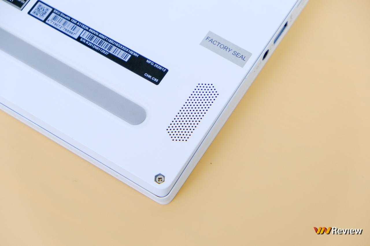 """Đánh giá MSI Stealth 15M: Máy tính xách tay gaming mang thân hình """"Ngọc Trinh"""" - VnReview 2020 14"""
