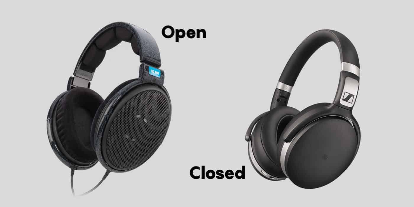 Đâu là sự khác nhau giữa tai nghe open-back và closed-back?