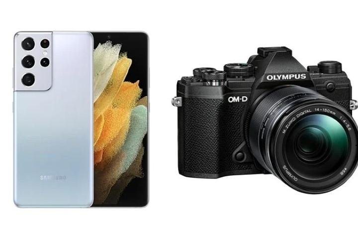 Rộ tin Samsung hợp tác Olympus để cải thiện camera trên Galaxy S22