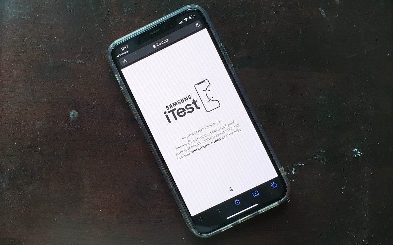 Samsung ra mắt web app iTest giúp trải nghiệm Android ngay trên iPhone