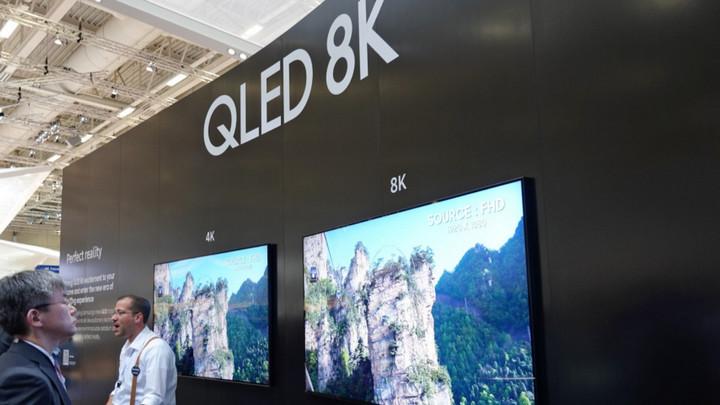 Người Mỹ và Trung Quốc sắp đua nhau mua TV 8K