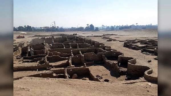 Phát hiện 'Thành phố vàng' 3.000 năm tuổi ở Ai Cập