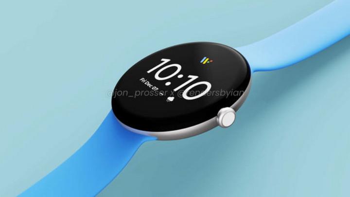 Đây có thể là những hình ảnh đầu tiên về đồng hồ Google Pixel Watch