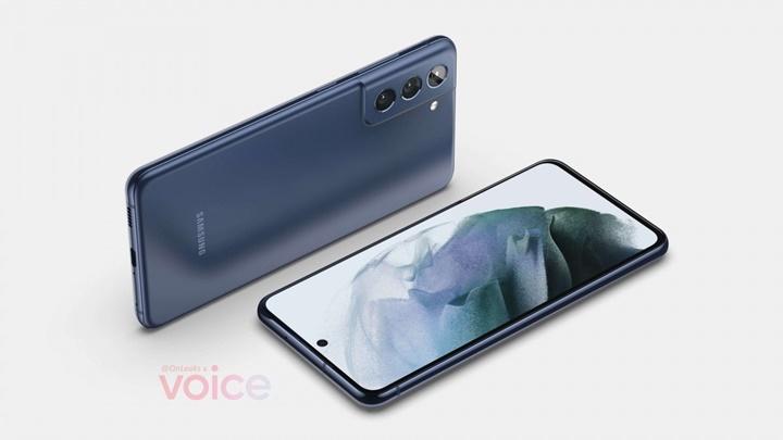 Lộ diện ảnh render đầu tiên của Samsung Galaxy S21 FE