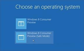 Truy cập chế độ Safe Mode trên Windows 8