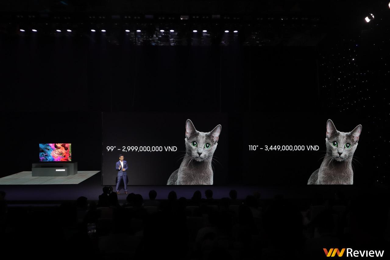 Samsung lần đầu mở bán TV Micro LED cho người dùng ở Việt Nam, giá