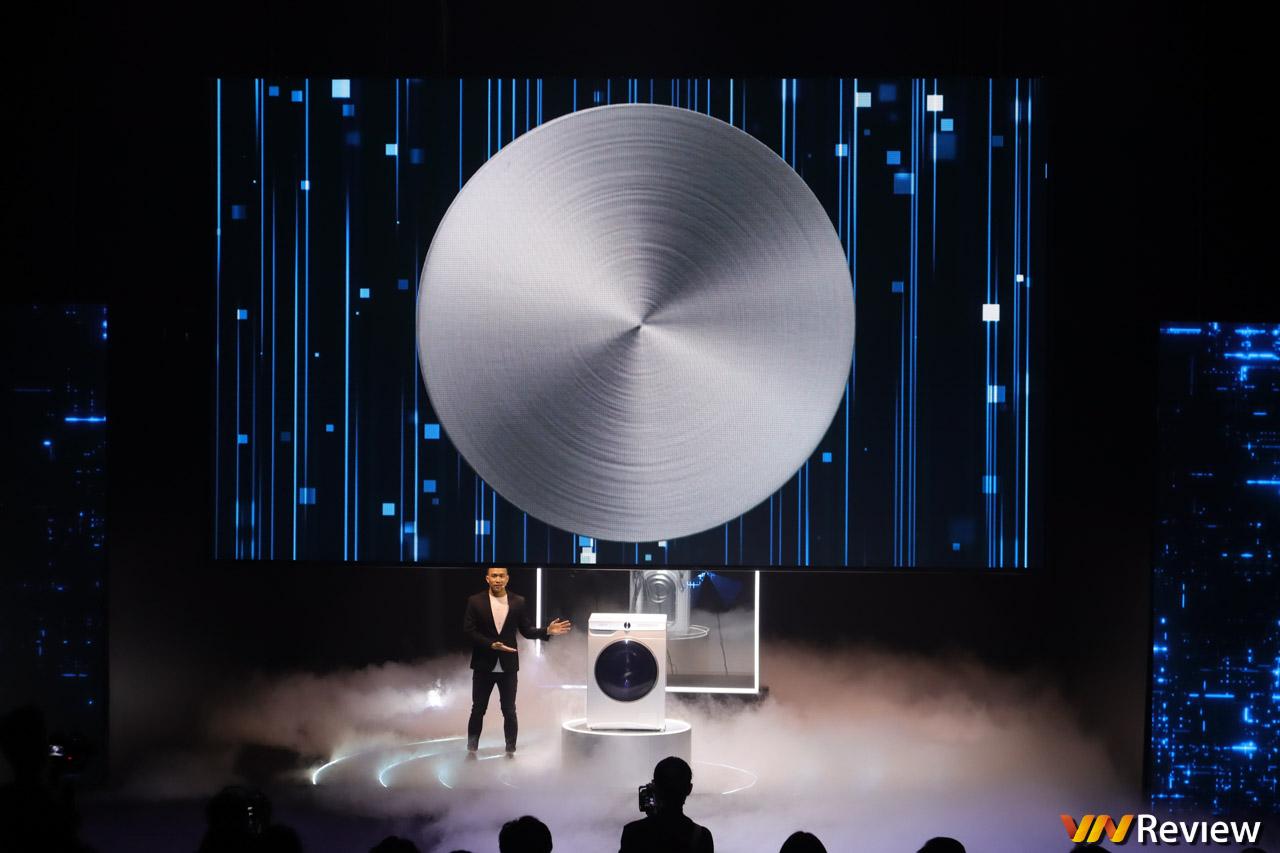 Samsung ra mắt máy giặt tích hợp AI tại Việt Nam: phân tích được độ bẩn của quần áo, giá từ 15,5 triệu đồng