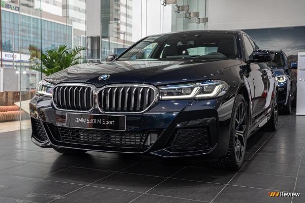 Cận cảnh BMW 530i M Sport tại Việt Nam, nâng cấp trang bị giá 3,289 tỷ đồng