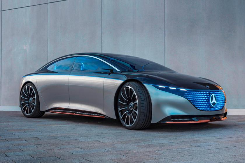 Mercedes bước vào kỷ nguyên mới với chiếc sedan flagship chạy điện đầu tiên