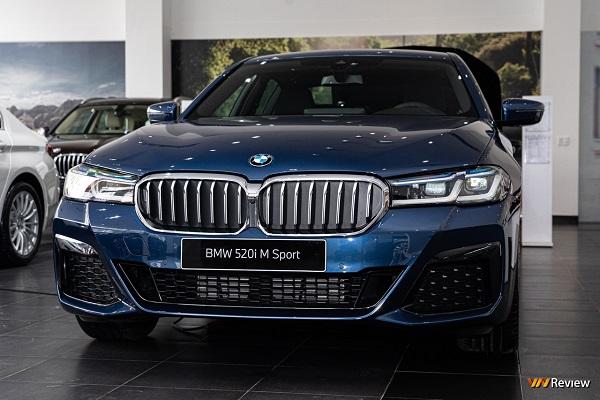 BMW Việt Nam ra mắt 3 mẫu xe mới dòng 5 Series, mức giá từ 2,499 tỷ đồng