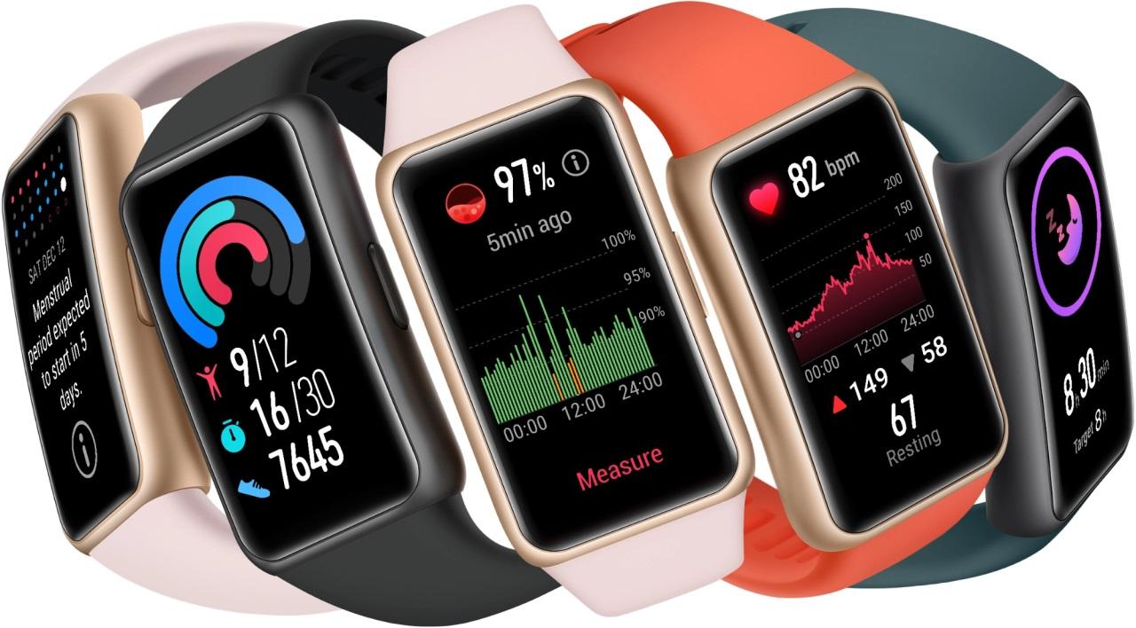 Huawei Band 6 ra mắt tại Việt Nam: màn hình lớn như smartwatch, đo được SpO2, pin 2 tuần, giá 1,49 triệu đồng