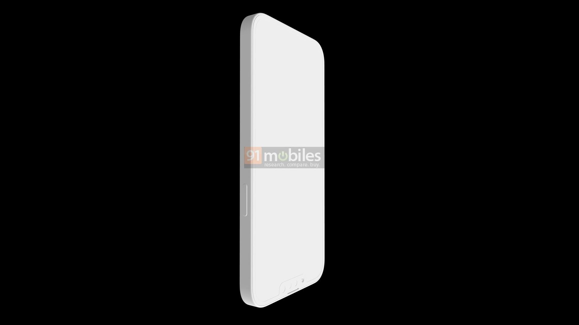 Lộ hình ảnh render của Apple iPhone 13 Pro, nhiều điểm tương đồng với iPhone 12 Pro hiện tại