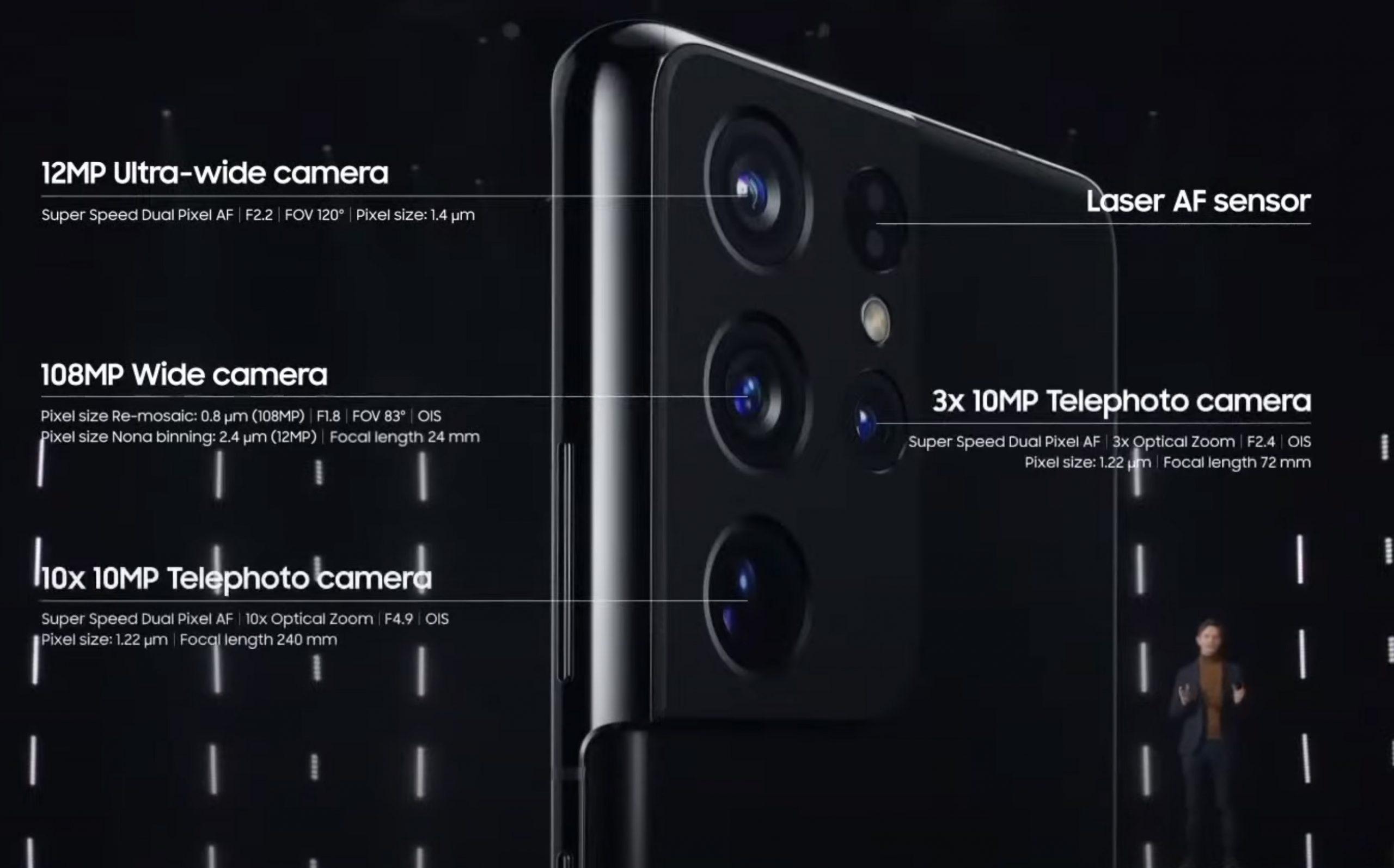Samsung Galaxy S22 sẽ không có cảm biến 3D ToF