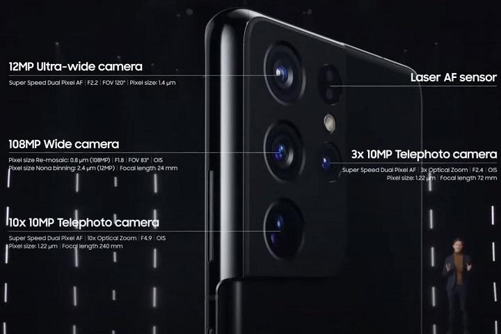 Samsung Galaxy S22 sẽ tiếp tục không có cảm biến 3D ToF