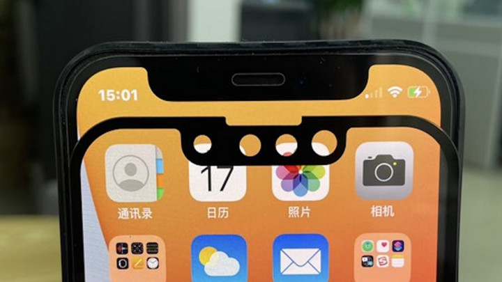 """Thêm hình ảnh chứng minh iPhone 13 sẽ có """"tai thỏ"""" bớt khó chịu hơn iPhone 12"""
