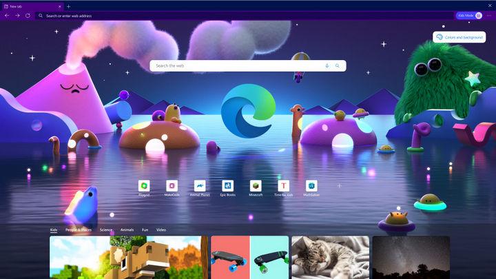 Microsoft Edge tung chế độ Kids Mode, hỗ trợ phụ huynh kiểm soát con cái lướt web