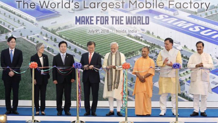 Samsung Display bắt đầu sản xuất tấm nền màn hình smartphone tại Ấn Độ