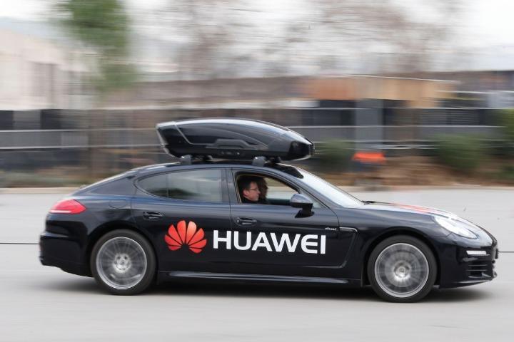 Huawei ra mắt loạt giải pháp xe thông minh cho các nhà sản xuất ô tô