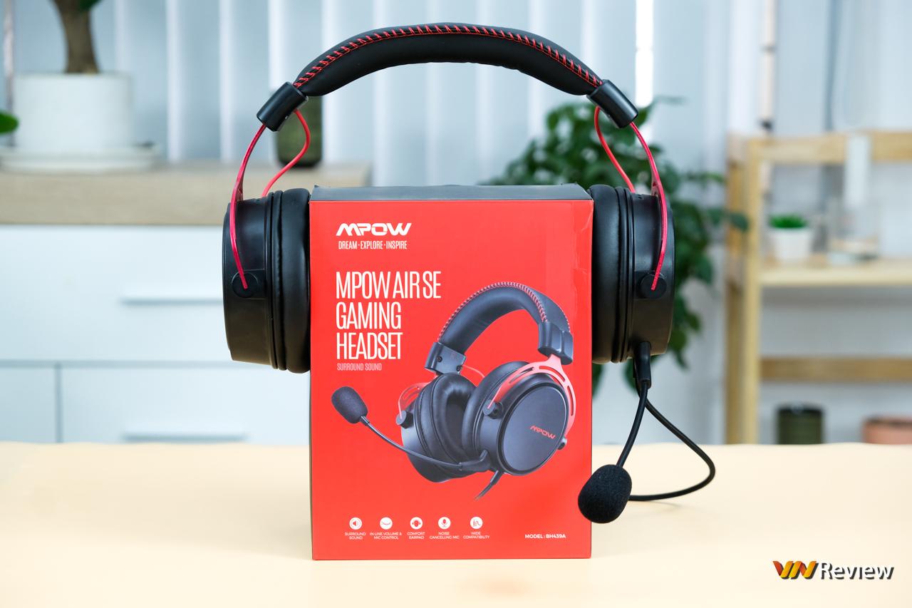 """Đánh giá Mpow Air SE: Dáng hình """"ông lớn"""" tai nghe gaming phổ thông - VnReview 2020 1"""