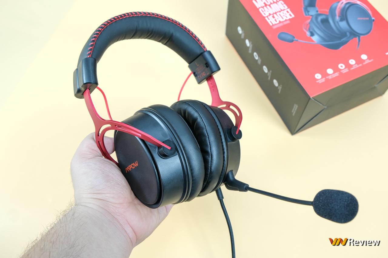 """Đánh giá Mpow Air SE: Dáng hình """"ông lớn"""" tai nghe gaming phổ thông - VnReview 2020 2"""